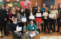 group of York's top academic and athletic students