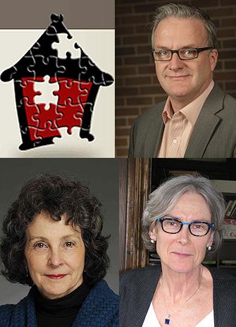 headshots of Stephen Gaetz, Paula Goering and Valerie Tarasuk