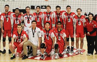 Lion's Mens volleyball team