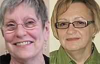 headshot of Helena Stahls and Deborah Davidson