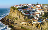 An image showing the coast of Portugal