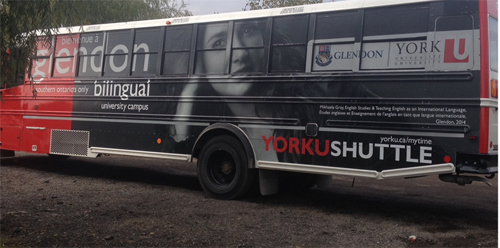 York University Shuttle bus