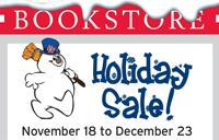 Bookstore holds holiday sale