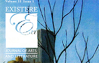 Cover of Existere journal