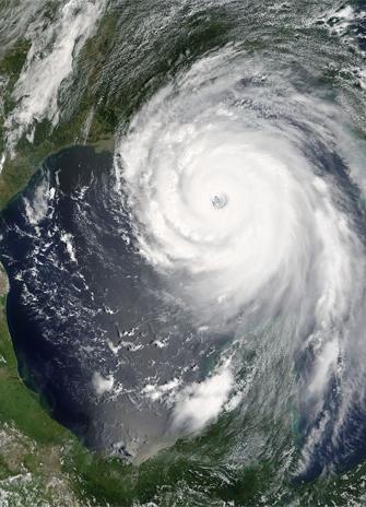 Hurricane Katrina Satelite image
