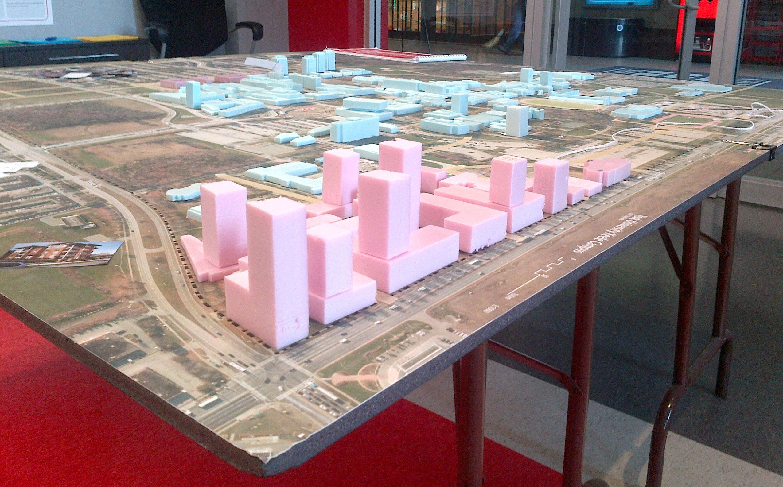 Lands for Learning Model of edge precincts