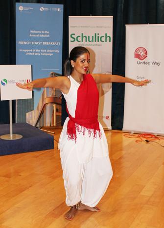 Ruku Sandhu performs dance called Bharatha Natyam