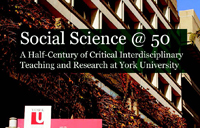 Portion of book cover for Social Science at 50