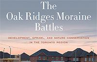 The Oak Ridges Moraine Battles Book Cover