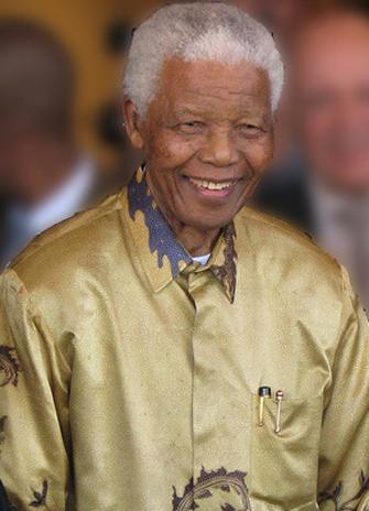 Nelson Mandela. Image: Wikimedia Commons