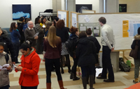 Poster session at York Libraries undergrad research fair