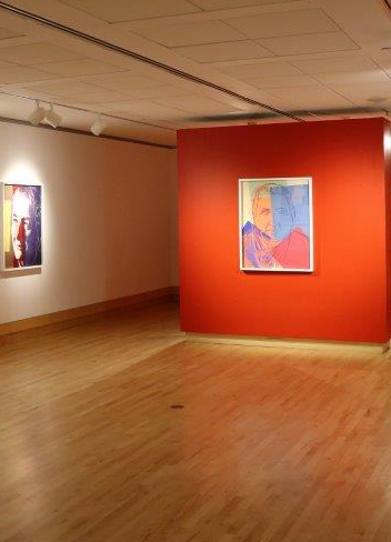 Varley gallery's installation of paintings by Andy Warhol