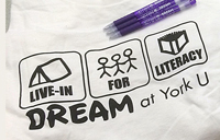 Live-In for Literacy T-shirt