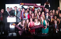 McMaster U Winning Team 2014 MBA Games