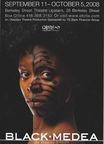 Black Media playbill