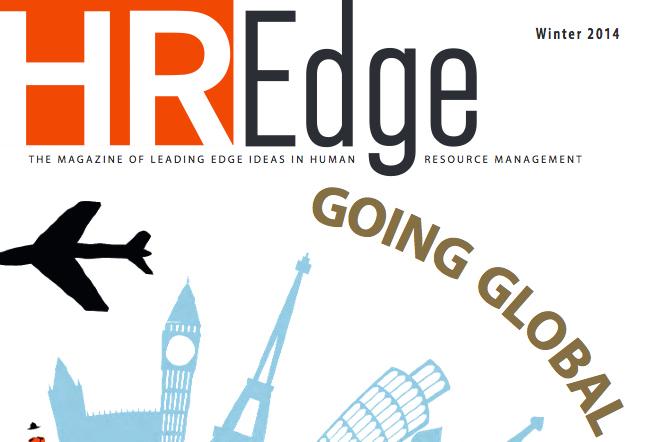 HR Edge Magazine cover