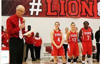 Lions Women's basketball trio