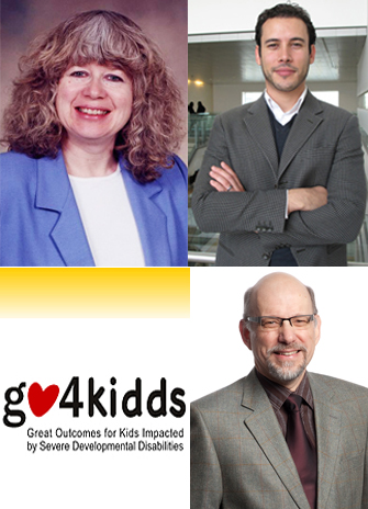 From left, Adrienne Perry, Jonathan Weiss and James Bebko