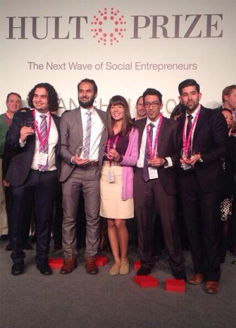 Team Schulich in finals for the Hult Prize