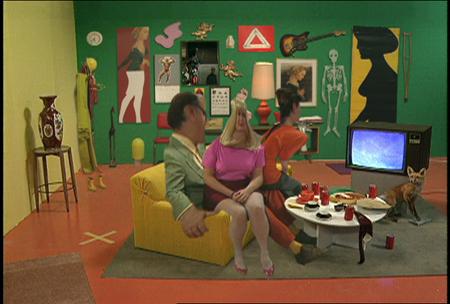 A Scene from Michael Snow's film Corpus Callosum