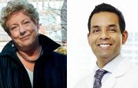Mary Lou Finlay and Samir Sinha