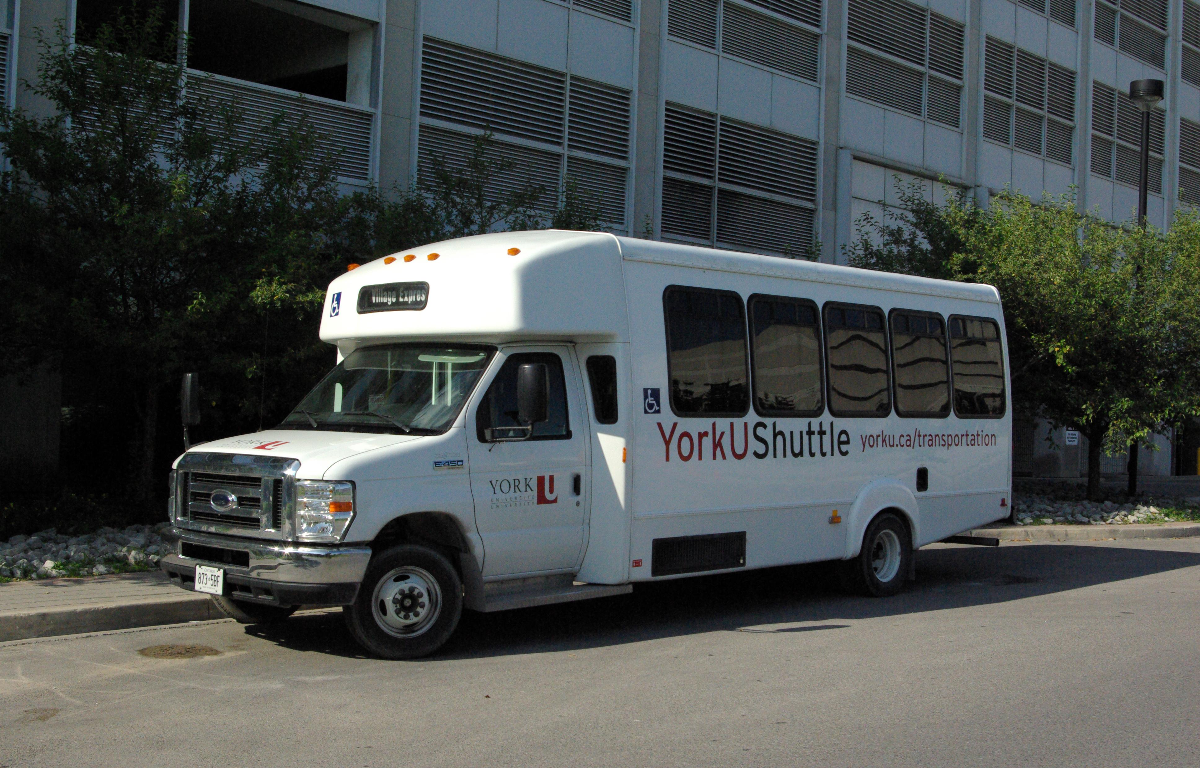 York University exam shuttle
