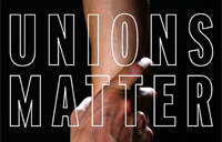 Partial cover of Unions Matter book