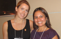 From left, Jane McFarlane and Ruth Rendon