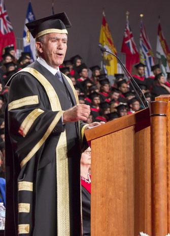 Chancellor Greg Sorbara