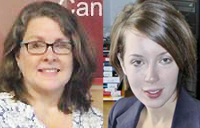 Catherine Timms and Monique Giroux