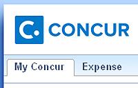 Concur Expense logo