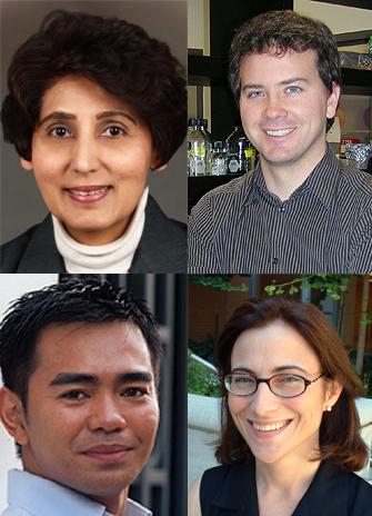 Early research award winners