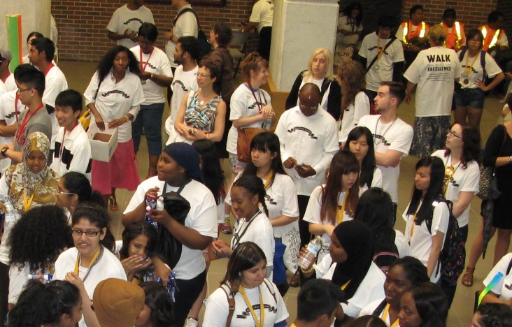Walk with excellence image for YFile homepage