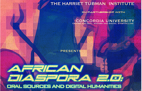 Oral sources and digital humanities partial poster
