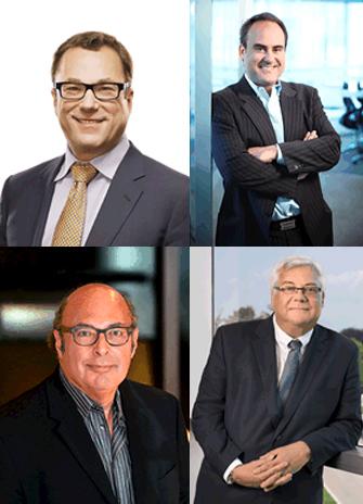 Clockwise, Michael Cooper, John Ruffolo, Mark Lievonen and Howard Lichtman