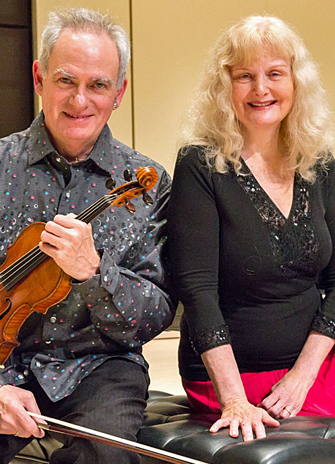 Jacques Israelievitch and Christina Petrowska Quilico