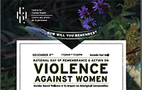 National Day of Remembrance poster