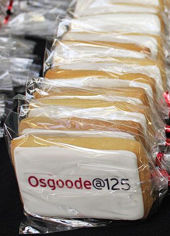 Osgoode 125 cookies
