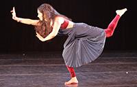 Tehreema Mitha dancing
