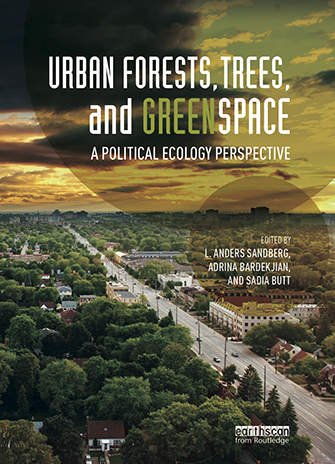 Urban Forests, Trees and Greenspace book coverl