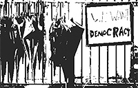 YCAR Hong Kong's umbrella revolution partial poster