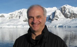 Mark Terry on location in Antarctica