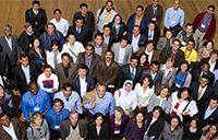 A graduating class of IEP students