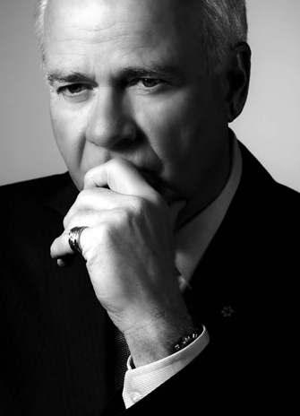 Peter Mansbridge, CBC anchor The National