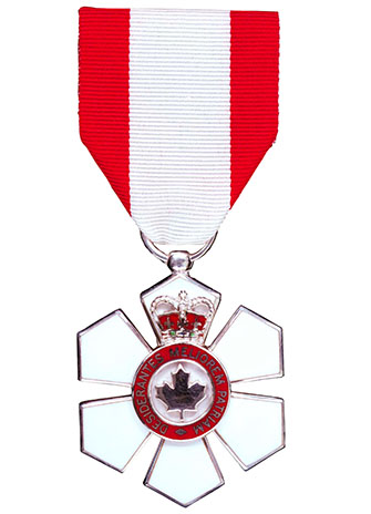 Order of Canada Member medal large image for YFile homepage