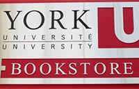 York University Bookstore sign