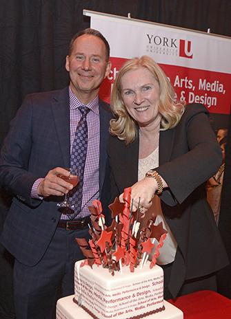 Shawn Brixey and Rhonda Lenton