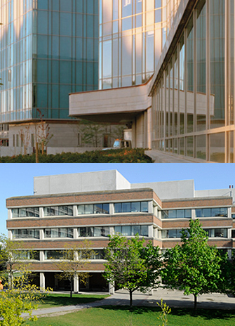 Seymour Schulich and Health, Nursing and Environmental Studies buildings