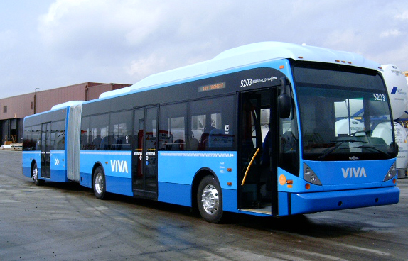Viva bus at York University