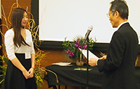 Laina-Tsurusaki-is-presented-as-the-winner-of-the-Open-Category-of-the-National-Japanese-Speech-Contest
